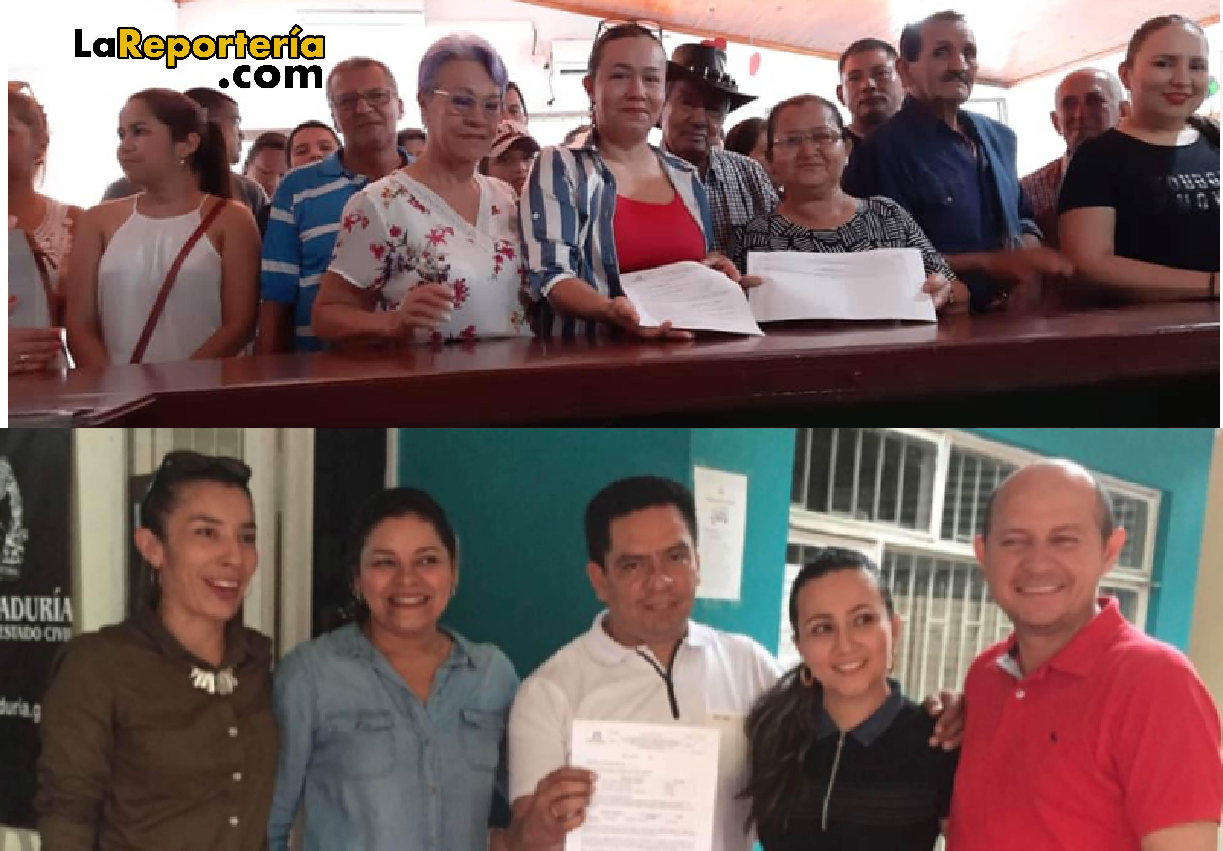 Recogen firmas en Tauramena y Villanueva.
