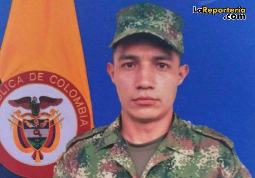 Soldado Profesional Ariza Olivares José Reyes QEPD.