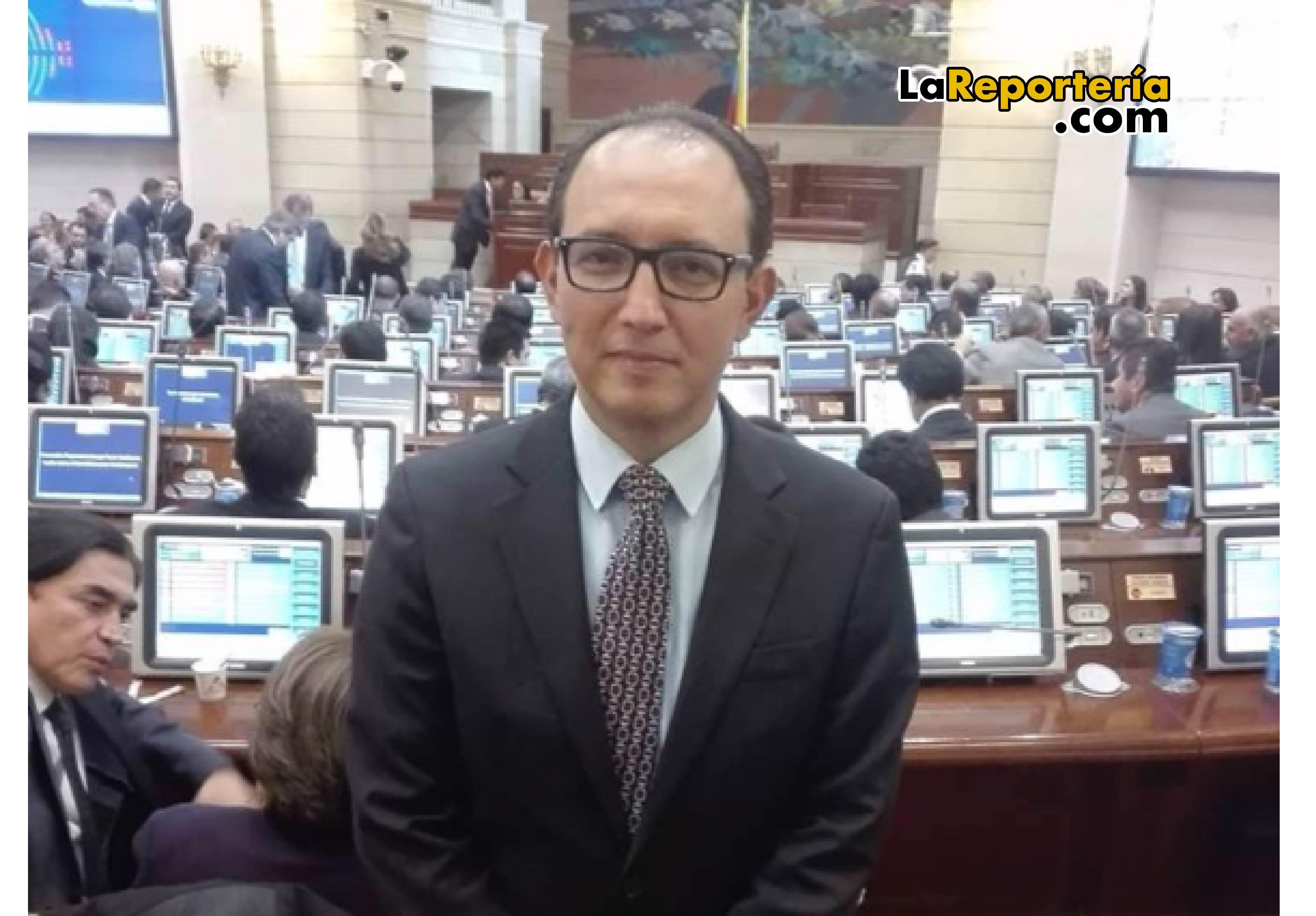 Juan Carlos Suárez, asesor del Ministerio de Transporte.