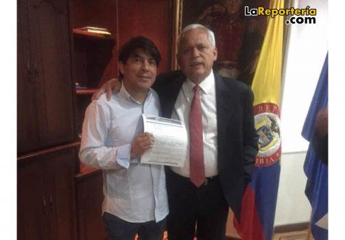 Mauricio Chiquillo, pré candidato a la Gobernación de Casanare.