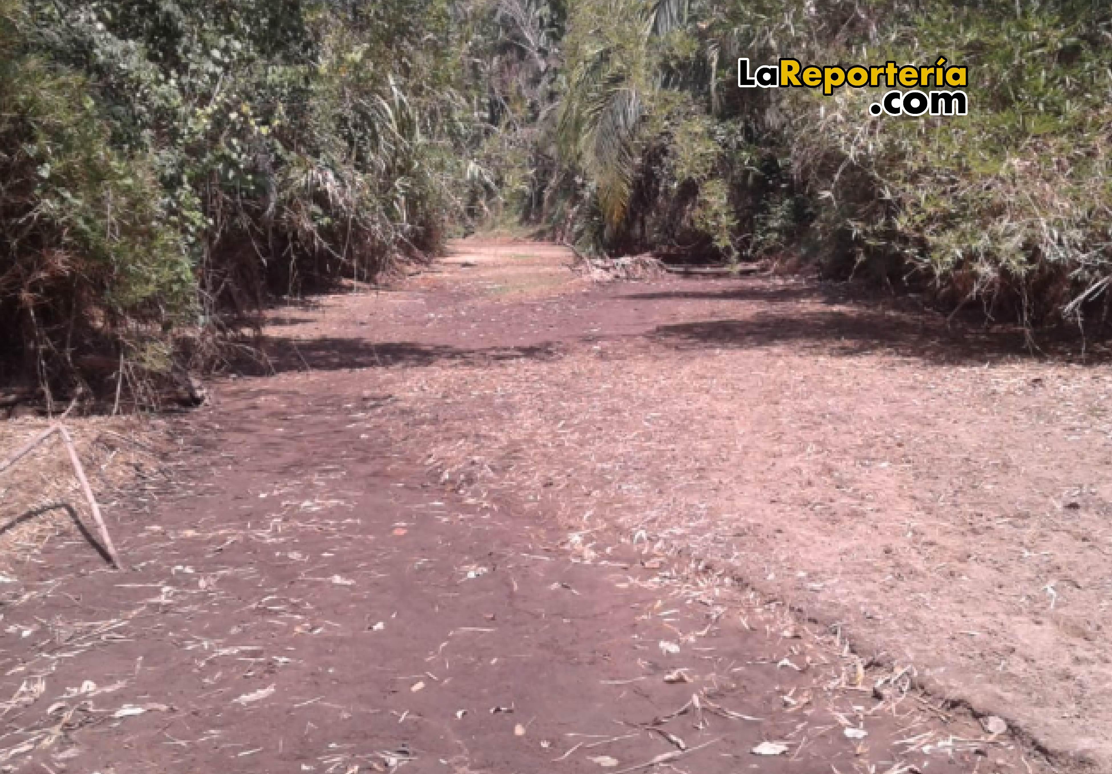 Así luce hoy el Río Guachiría-