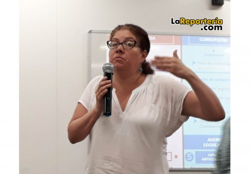 Alejandra Barrios directora de la Moe-