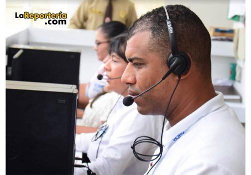 Call Center del Hospital Regional de la Orinoquia.