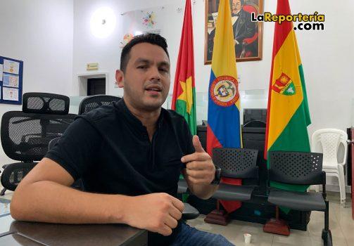 Concejal José Humberto Barrios.