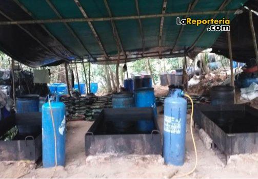 Laboratorio químico encontrado en Monterrey-