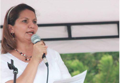 Martha Cecilia Pérez, ex alcaldesa de Nunchía.