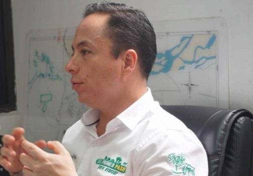 Alcalde de Yopal Leonardo Puentes V.