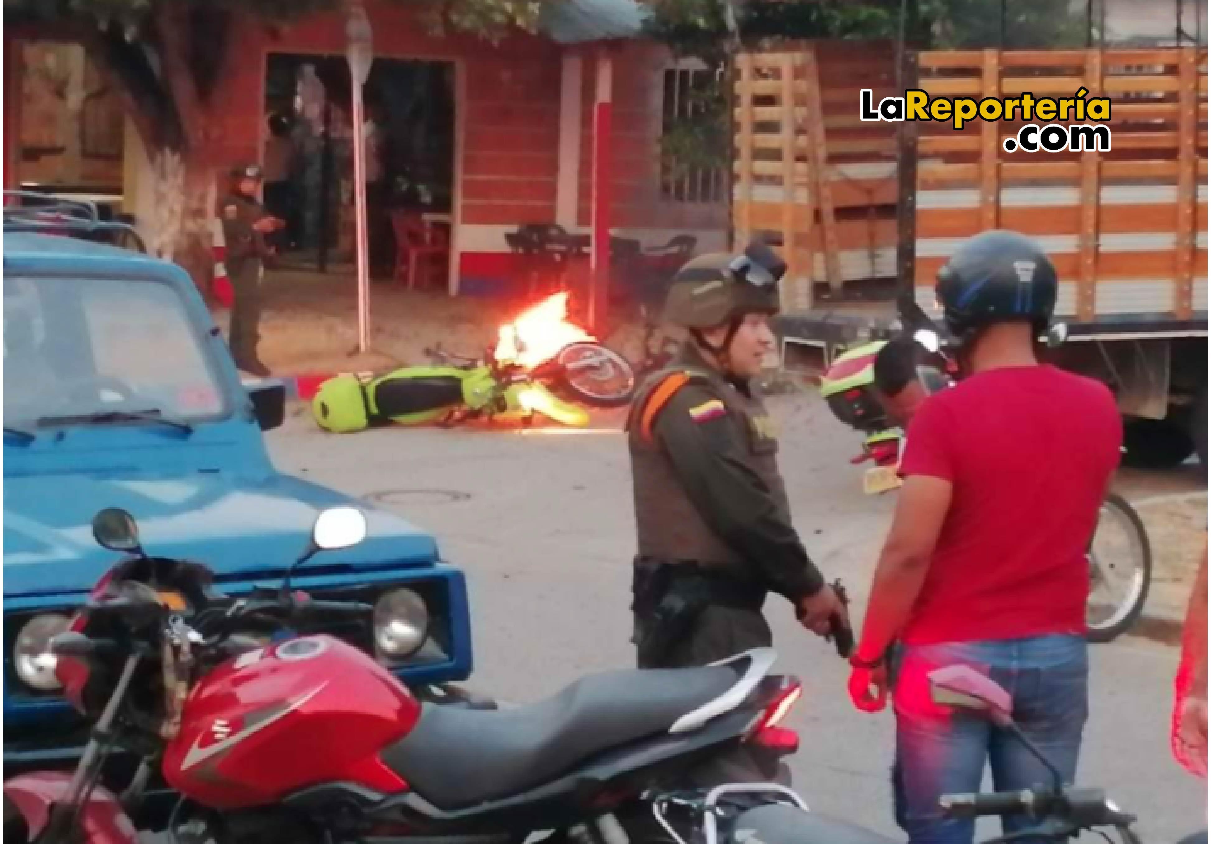 Moto Bomba en Arauca.