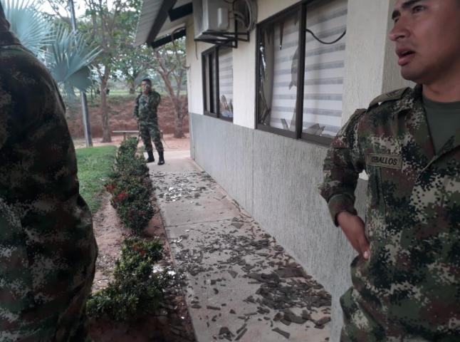 Instalaciones del Batallón de Ingenieros Militares No 18 General Rafael Navas Pardo