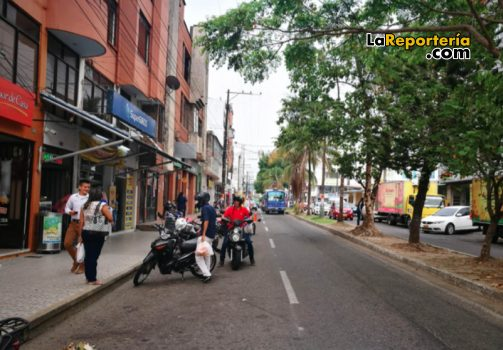 Comercio en el centro de Yopal.