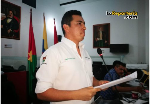Ingeniero Guillermo Pérez, secretario de Obras de Yopal.