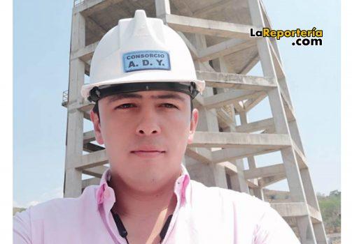 Ingeniero Guillermo Pérez secretario de Obras.
