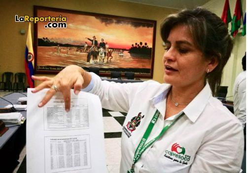 Nuria Bohórquez, gerente de Capresoca.