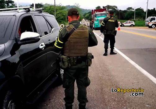 Policía vigilaron vías en Semana Santa