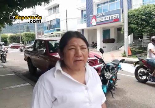 Gloria Ceija, mamá de joven que espera la remisión de Capresoca.