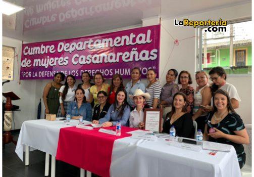 Red Departamental de Mujeres de Casanare.