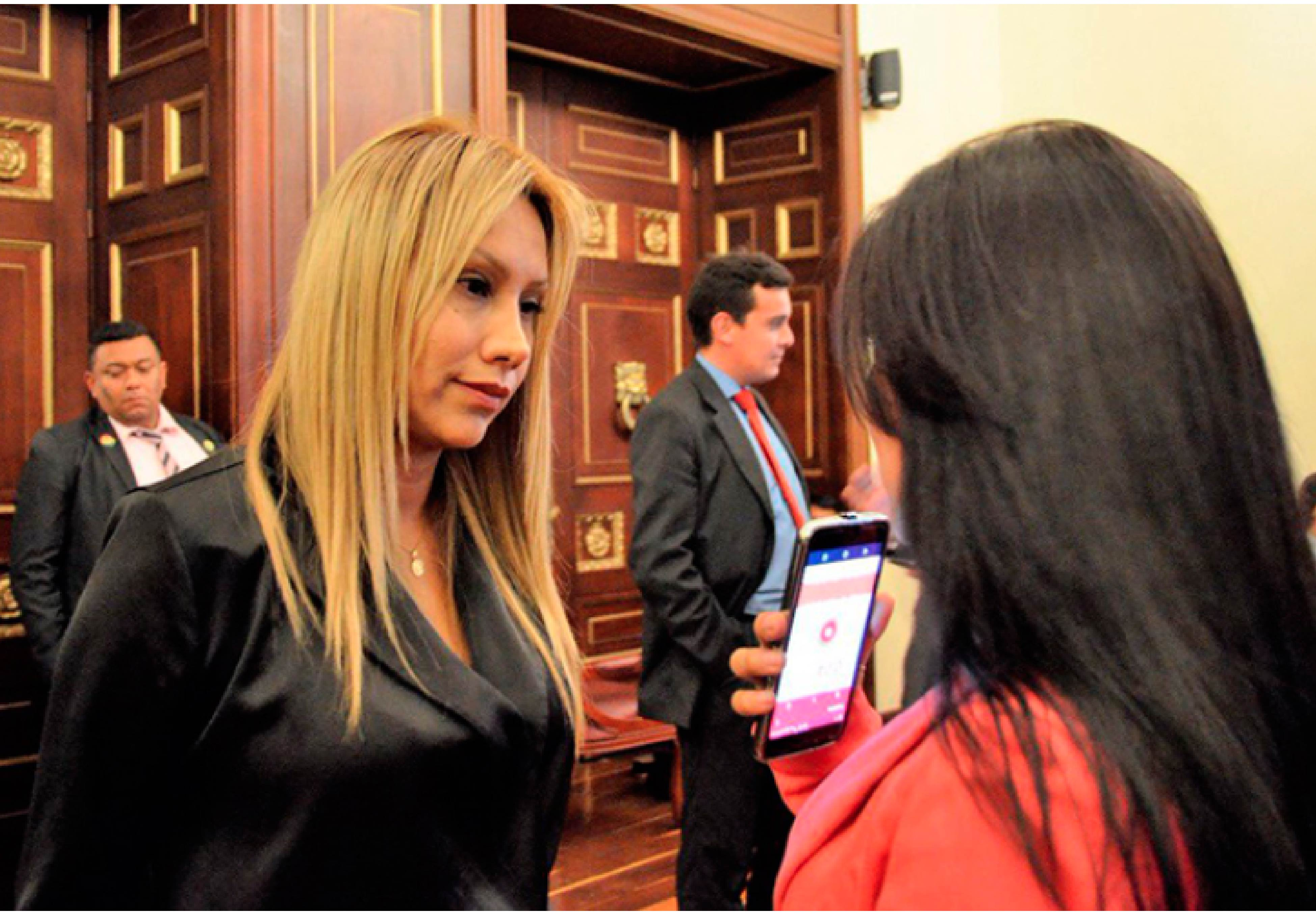 Senadora del Partido Verde Sandra Ortiz-