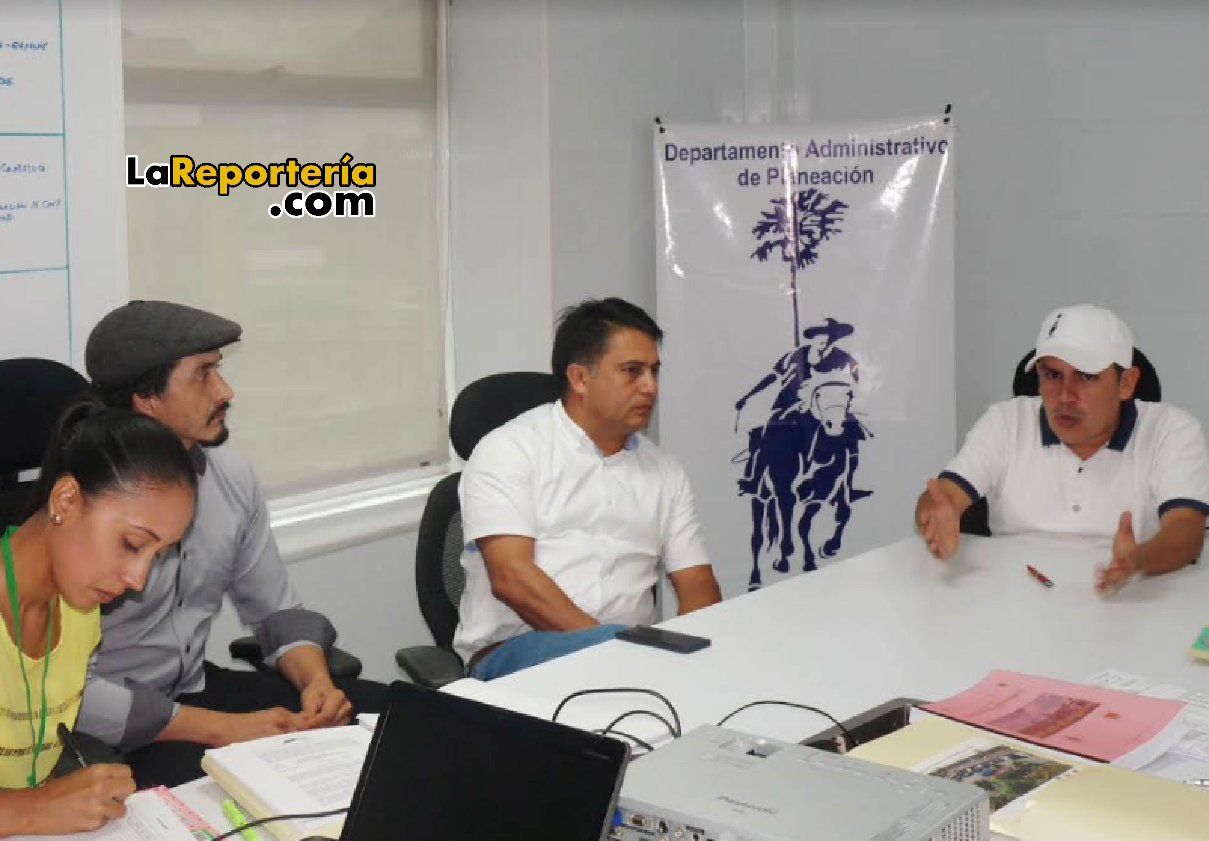 Mesa de trabajo adelantada en la Gobernación de Casanare.