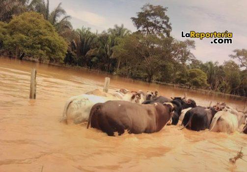 Lluvias afectan a varios municipios de Casanare.