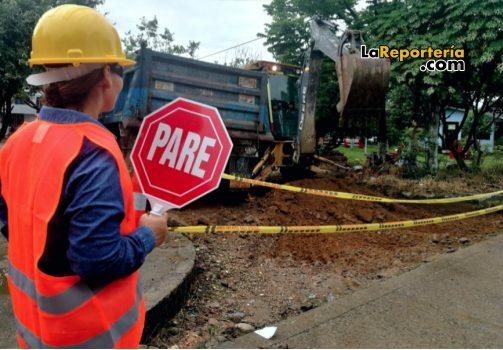 Iniciaron obras de pavimentación en Yopal.