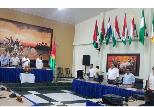 Clausura de sesiones de Asamblea de Casanare