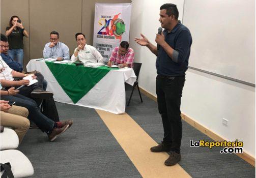 Concejal Edwin Ramírez participó en el Encuentro Regional Bicentenario.
