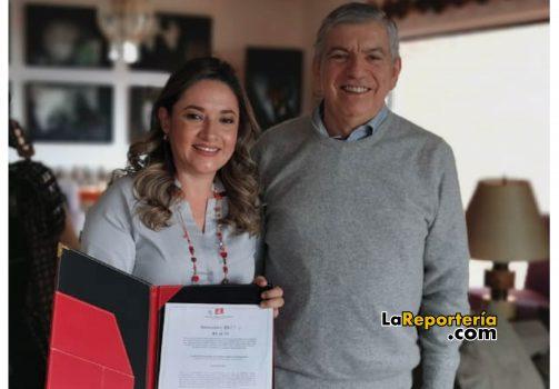 Entrega de aval por parte del ex presidente César Gaviria Trujillo.