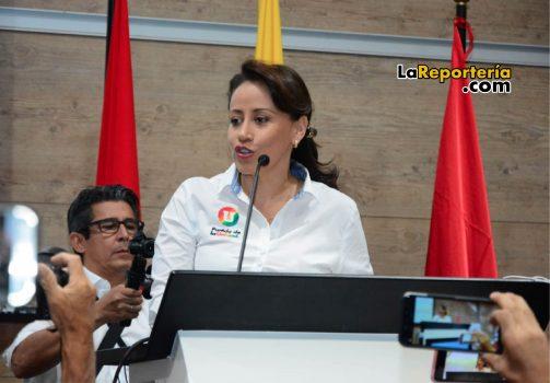 Sonia Bernal, precandidata a la Gobernación de Casanare.