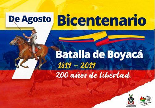 Colombia conmemora el Bicentenario de la Independencia.