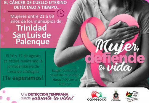 Jornada de Capresoca en San Luis de Palenque y en Trinidad.