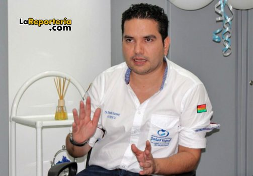Edwin Barrera gerente Hospital Local de Yopal.