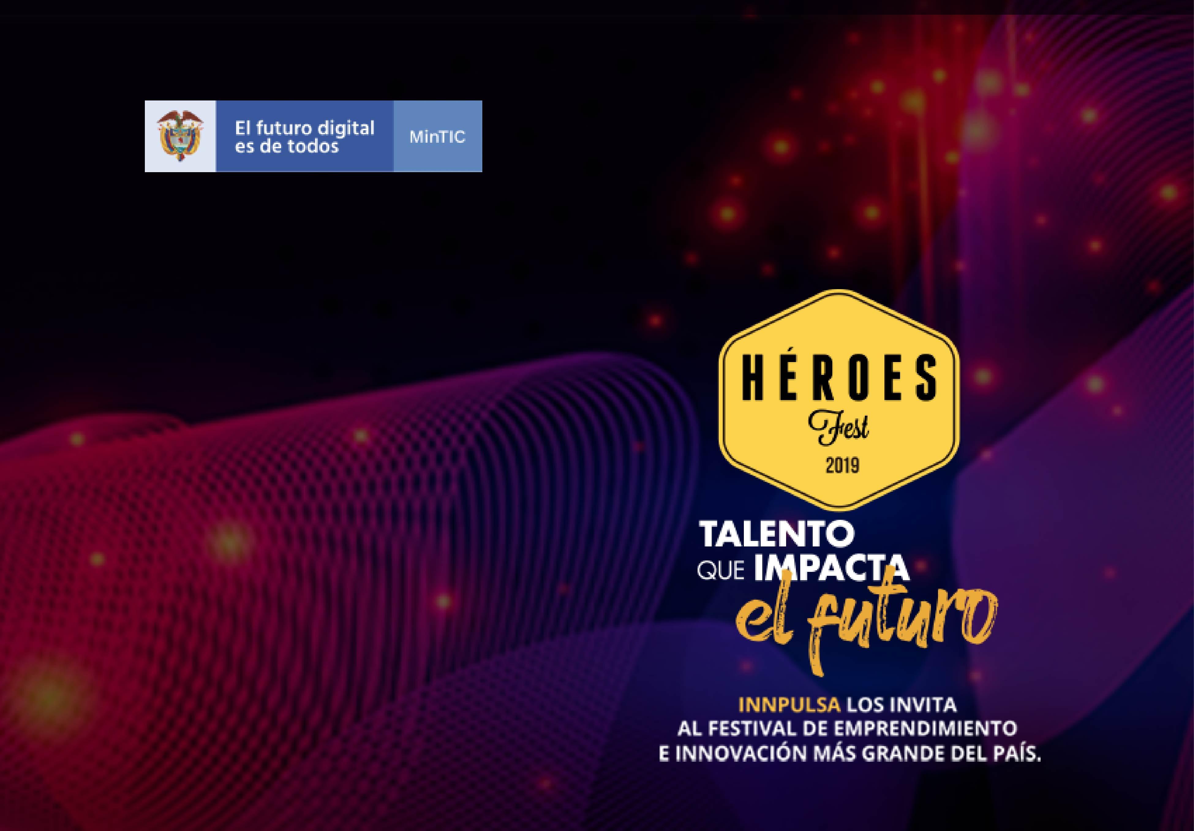 Héroes Fest, feria de emprendimiendo digital más grande de Colombia