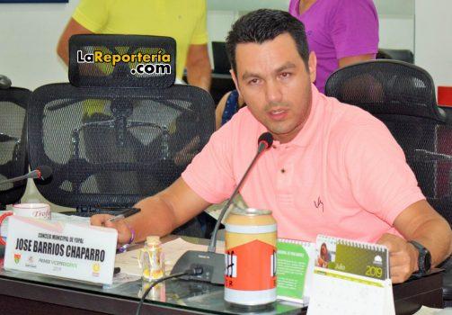 Concejal José Humberto BarriosConcejal José Humberto Barrios