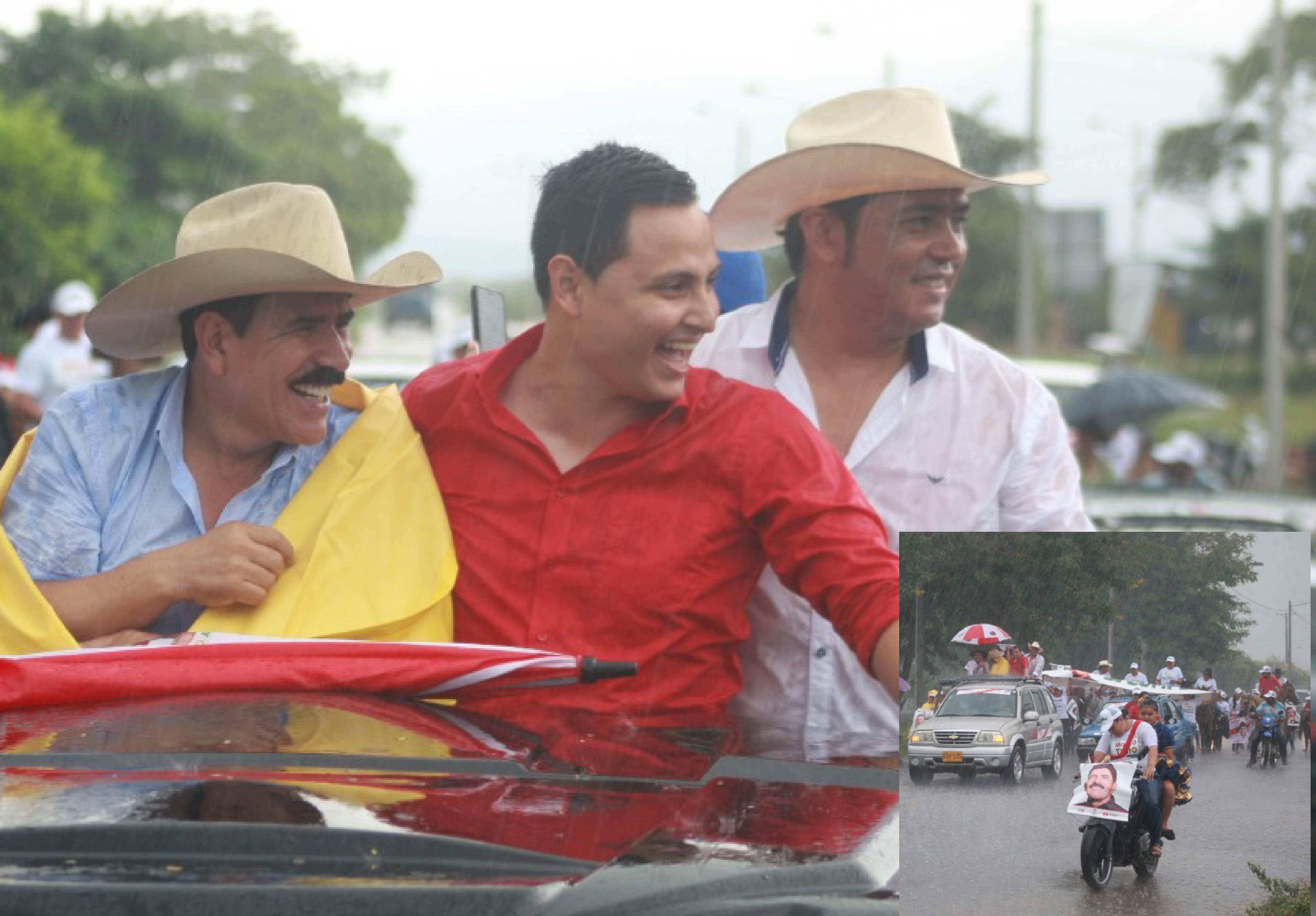 Así fue el recibimiento a Marco Tulio Ruiz en Hato Corozal.