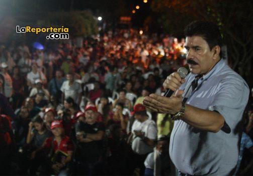 El candidato a la Gobernación de Casanare Marco Tulio Ruiz, estuvo en Aguazul