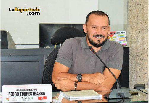 Pedro Guillermo Torres, ponente del proyecto