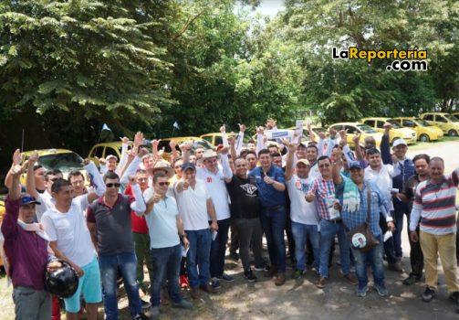 Taxistas de Yopal y Salomón Sanabria