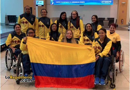 Selección Colombia de Baloncesto en Silla de Ruedas