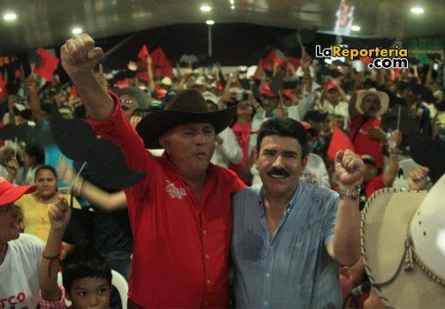 Carlos Cabrera, candidato a la Alcaldía de Trinidad y Marco Tulio Ruiz, candidato a la Gobernación de Casanare.