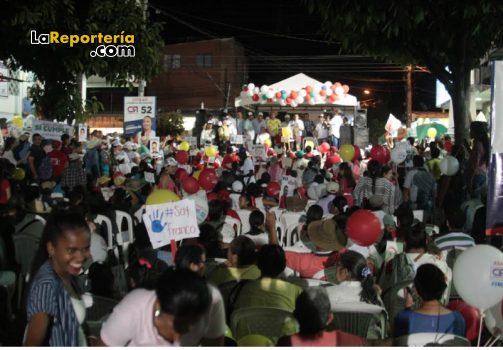 Marco Tulio Ruiz hizo compromisos con comunidad en Villanueva-