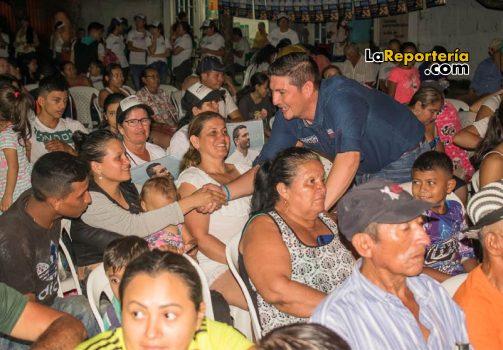 Salomón Sanabria en Aguazul-