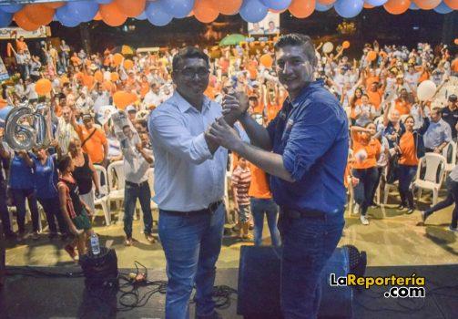 Salomón Sanabria estuvo recorriendo sectores de Villanueva-