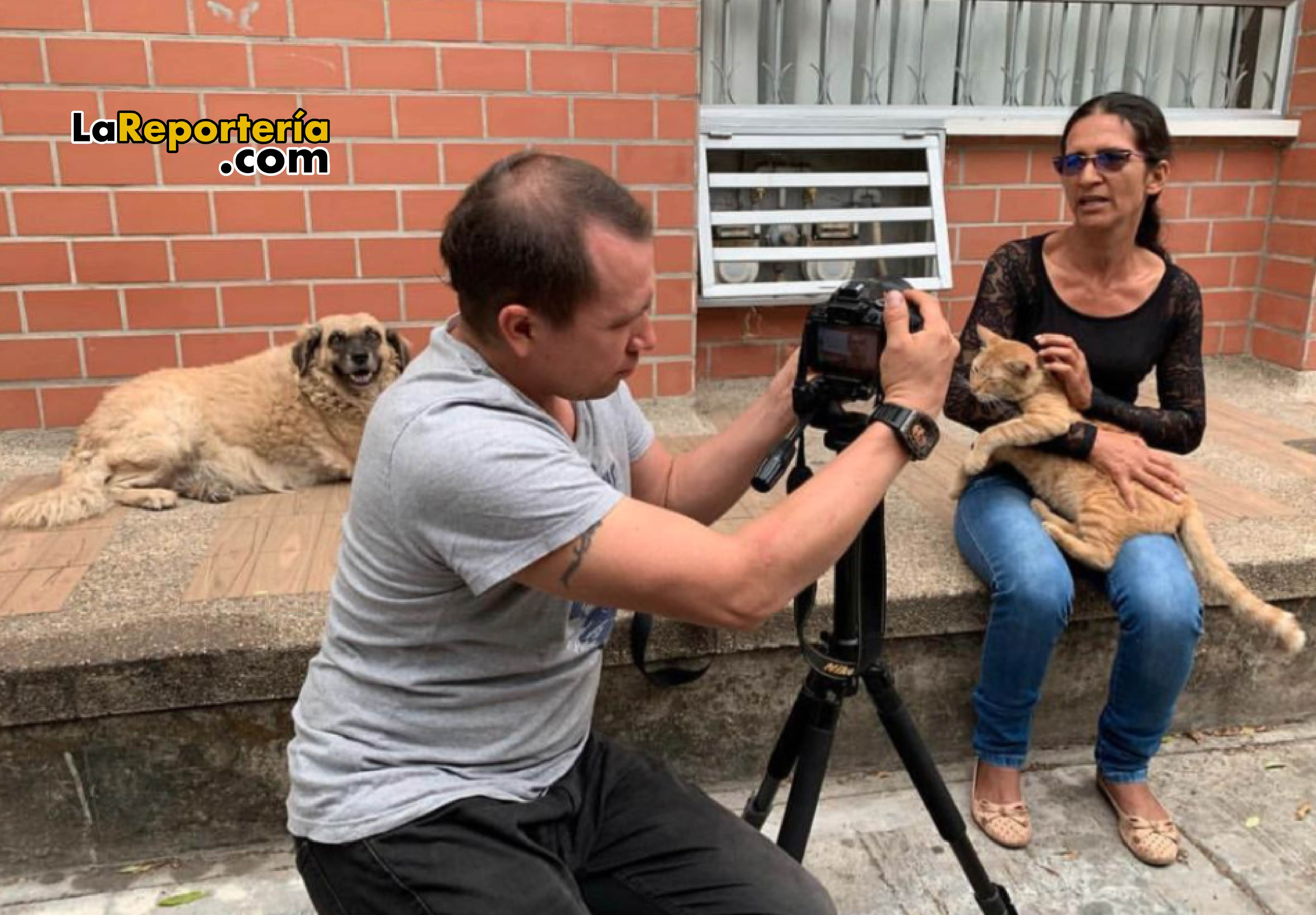 Adela Cruz, la mujer con más gatos en Yopal.