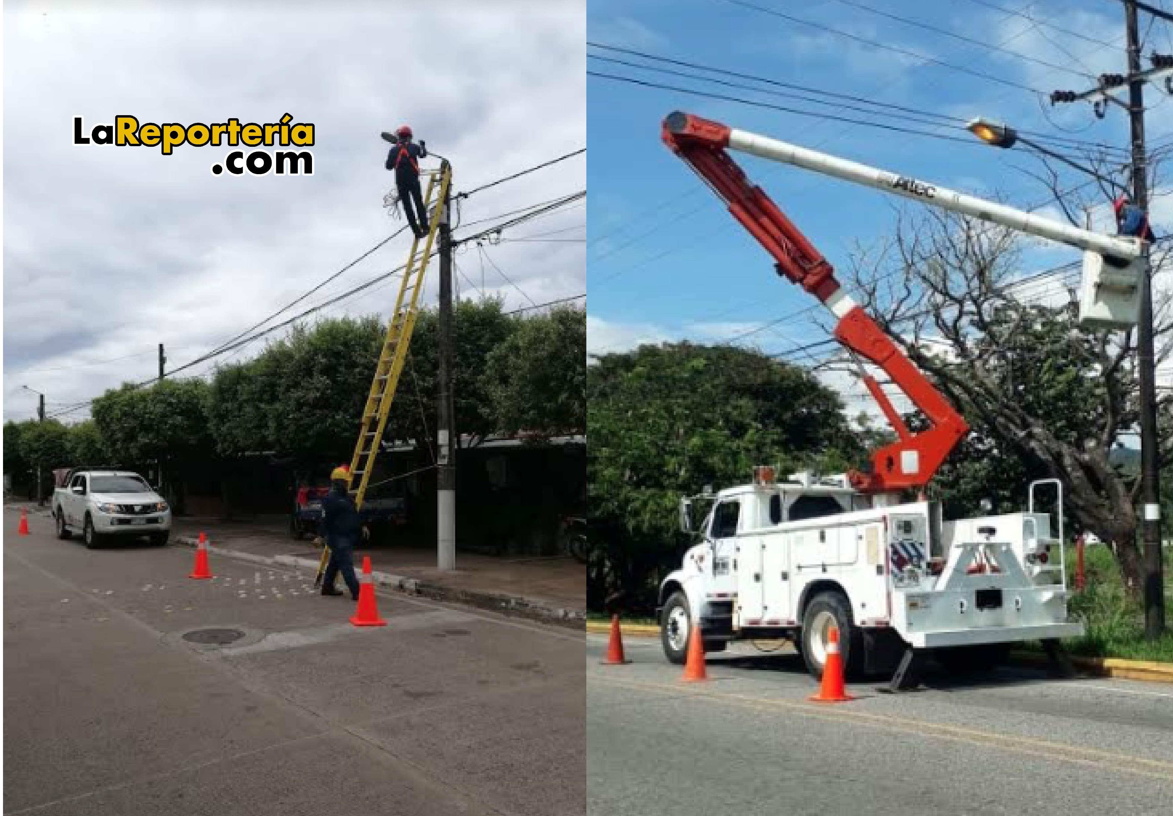 Inician cambio de luminarias de Alumbrado Público en Yopal.