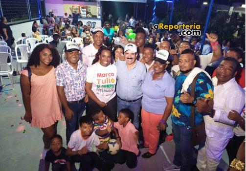 Marco Tulio Ruiz recibió apoyo de comunidad de Afrodescendientes.