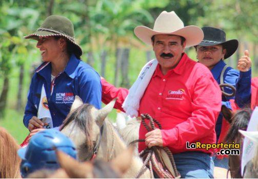 Marco Tulio Ruiz recorrió un amplio sector de Paz de Ariporo.