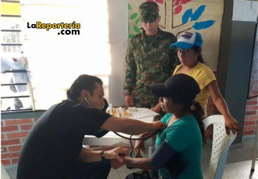 Profesionales de la Salud del Ejército estarán en Chámeza.
