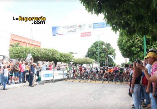 salida de la Vuelta al Porvenir en Yopal.
