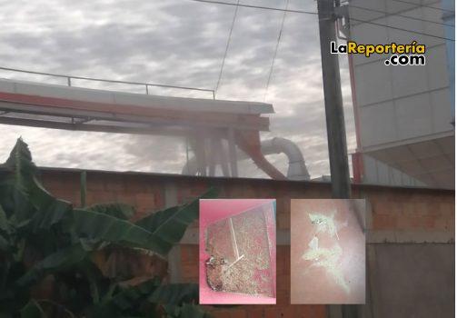 Afectaciones de este Molino en Aguazul.