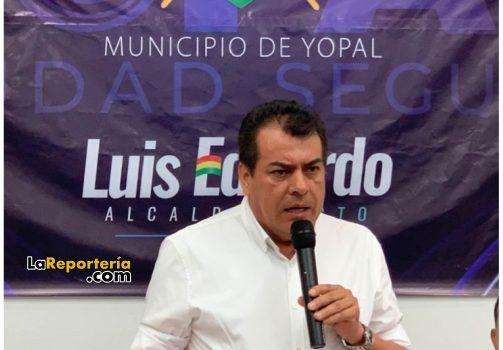 Alcalde electo Luis Eduardo Castro.